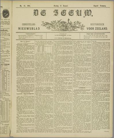 De Zeeuw. Christelijk-historisch nieuwsblad voor Zeeland 1895-01-15