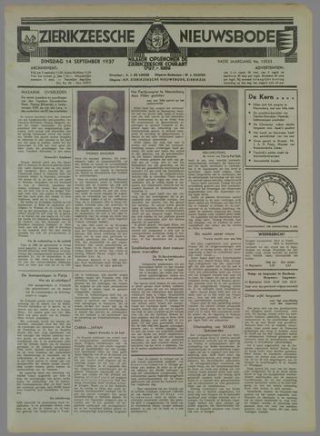 Zierikzeesche Nieuwsbode 1937-09-14