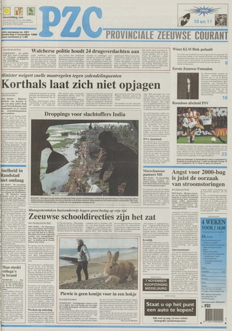 Provinciale Zeeuwse Courant 1999-11-04