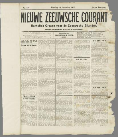Nieuwe Zeeuwsche Courant 1905-12-19
