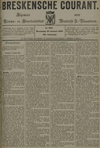 Breskensche Courant 1913-01-22