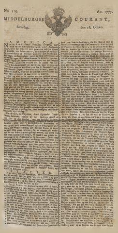 Middelburgsche Courant 1775-10-28