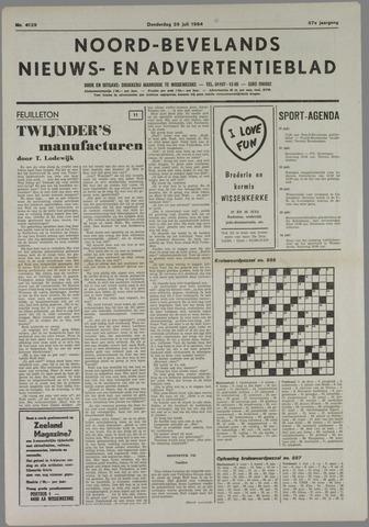 Noord-Bevelands Nieuws- en advertentieblad 1984-07-26