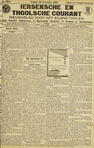Ierseksche en Thoolsche Courant 1932-11-25