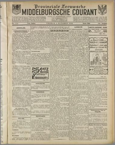 Middelburgsche Courant 1930-10-03