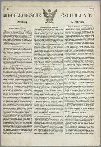 Middelburgsche Courant 1872-02-17
