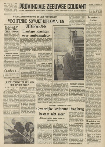 Provinciale Zeeuwse Courant 1961-10-13