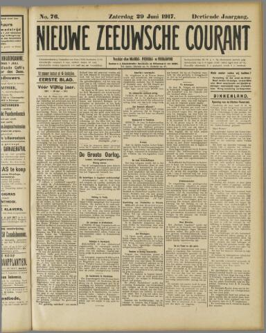 Nieuwe Zeeuwsche Courant 1917-06-29