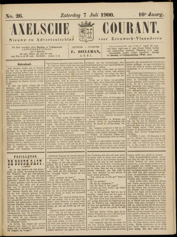 Axelsche Courant 1900-07-07