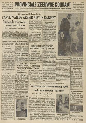 Provinciale Zeeuwse Courant 1959-04-09