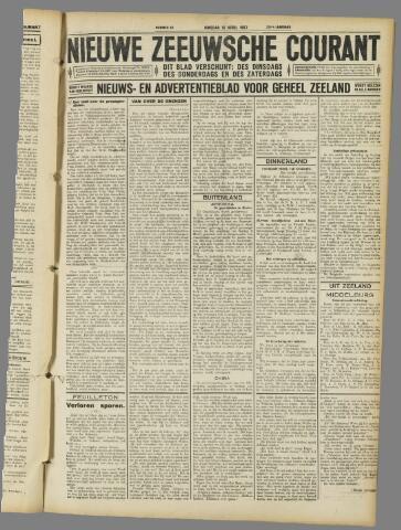 Nieuwe Zeeuwsche Courant 1927-04-12