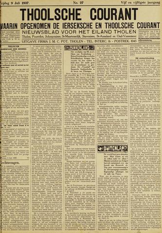 Ierseksche en Thoolsche Courant 1937-07-09