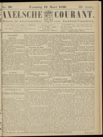 Axelsche Courant 1920-03-10