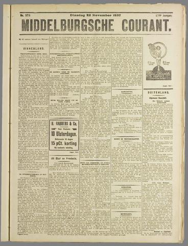 Middelburgsche Courant 1927-11-22