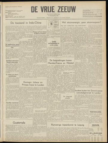 de Vrije Zeeuw 1954-07-12