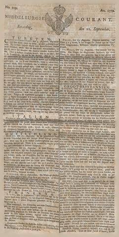 Middelburgsche Courant 1779-09-11