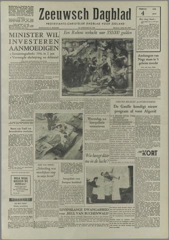 Zeeuwsch Dagblad 1958-07-04