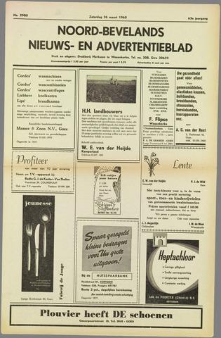 Noord-Bevelands Nieuws- en advertentieblad 1960-03-26
