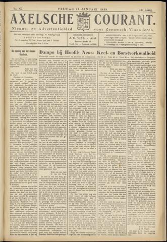 Axelsche Courant 1939-01-27