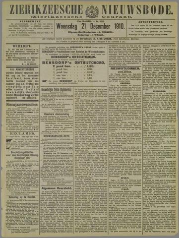 Zierikzeesche Nieuwsbode 1910-12-21