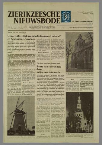 Zierikzeesche Nieuwsbode 1973-11-07