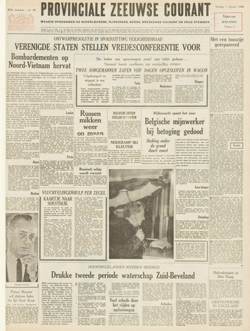 Provinciale Zeeuwse Courant 1966-02-01