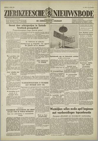 Zierikzeesche Nieuwsbode 1958-04-01