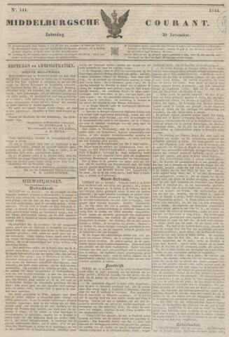 Middelburgsche Courant 1844-11-30