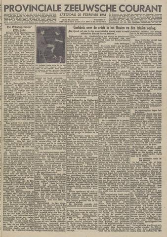 Provinciale Zeeuwse Courant 1943-02-20