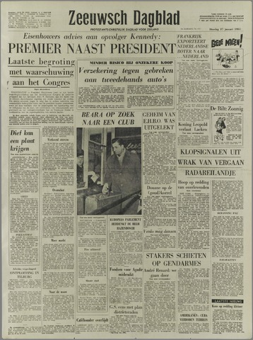 Zeeuwsch Dagblad 1961-01-17