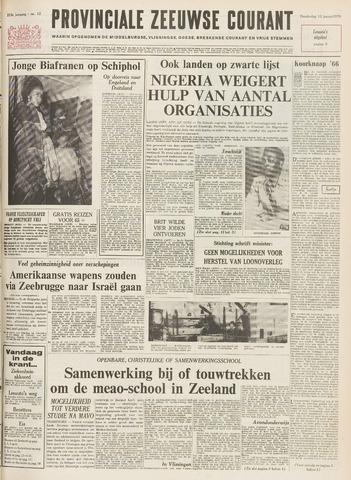 Provinciale Zeeuwse Courant 1970-01-15