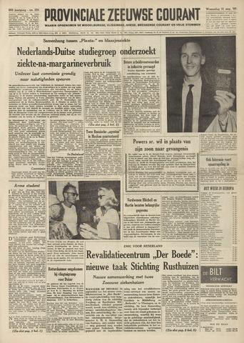 Provinciale Zeeuwse Courant 1960-08-31