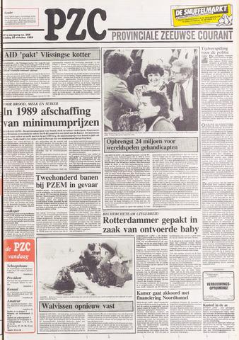 Provinciale Zeeuwse Courant 1988-10-28