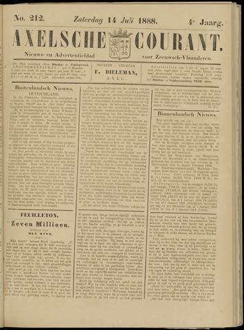 Axelsche Courant 1888-07-14