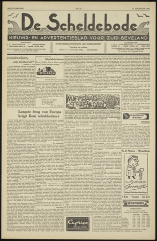 Scheldebode 1964-08-21