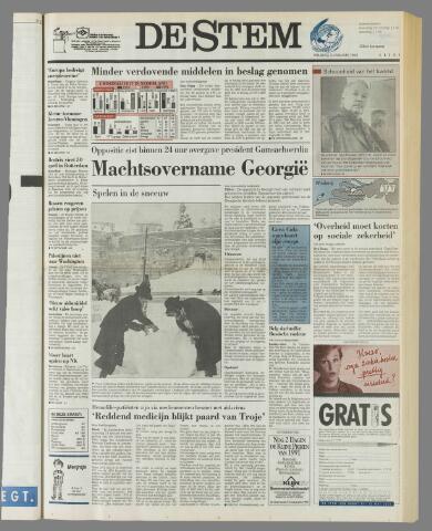 de Stem 1992-01-03