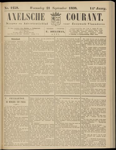 Axelsche Courant 1898-09-21