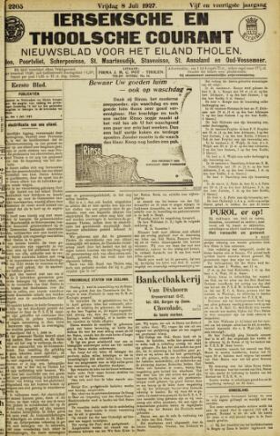 Ierseksche en Thoolsche Courant 1927-07-08
