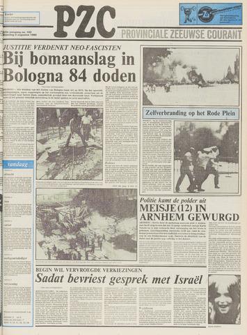 Provinciale Zeeuwse Courant 1980-08-04