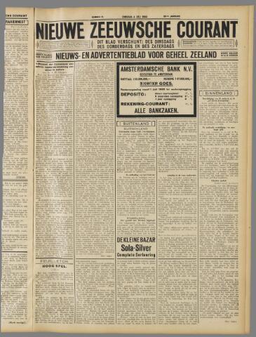 Nieuwe Zeeuwsche Courant 1933-07-04