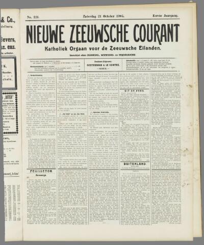 Nieuwe Zeeuwsche Courant 1905-10-21