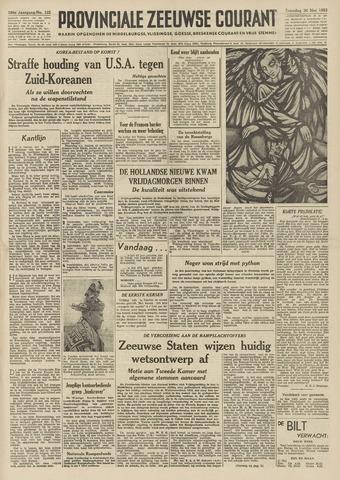 Provinciale Zeeuwse Courant 1953-05-30