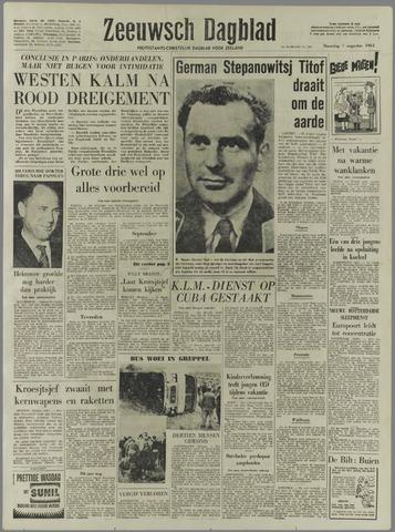 Zeeuwsch Dagblad 1961-08-07