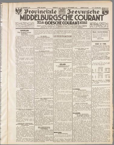 Middelburgsche Courant 1936-09-22