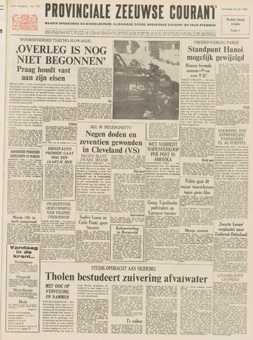 Provinciale Zeeuwse Courant 1968-07-25