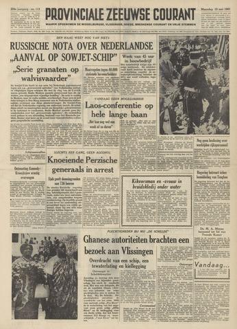 Provinciale Zeeuwse Courant 1961-05-15