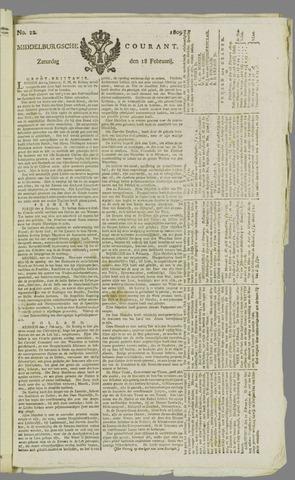 Middelburgsche Courant 1809-02-18