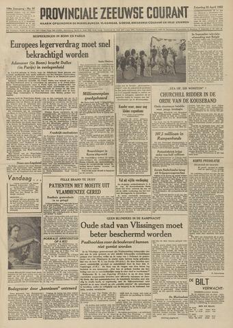 Provinciale Zeeuwse Courant 1953-04-25
