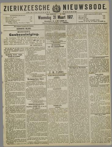 Zierikzeesche Nieuwsbode 1917-03-21