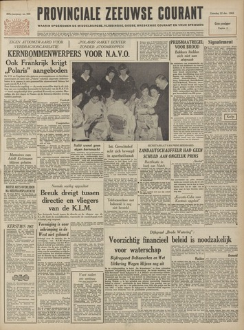 Provinciale Zeeuwse Courant 1962-12-22